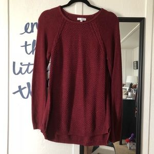 Burgundy Red Sweater